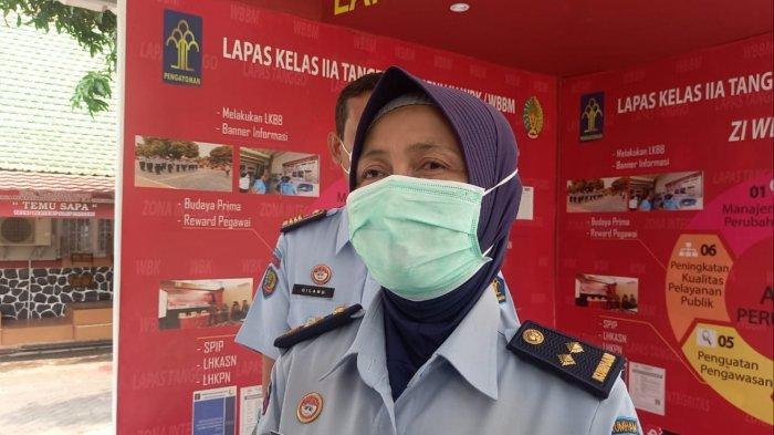 2 Hari Masuk Lapas di Tangerang, Pinangki Sirna Langsung Disuruh Nyapu Bersih-bersih Lingkungan