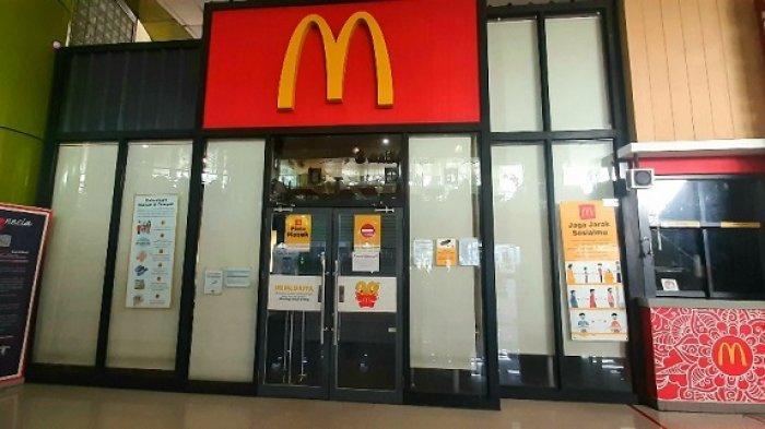Polisi Segel McDonalds Stasiun Gambir Imbas Kerumunan Berebut BTS Meal