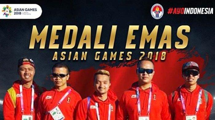 Tim Paralayang Sumbang Satu Medali Emas dan Perak di Asian Games 2018