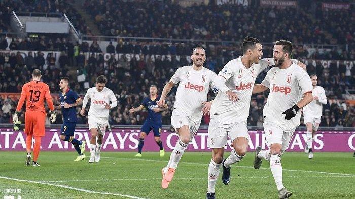 Hasil dan Klasemen Liga Italia Serie A - Ronaldo Bawa Juventus Bekap AS Roma dan Geser Inter Milan