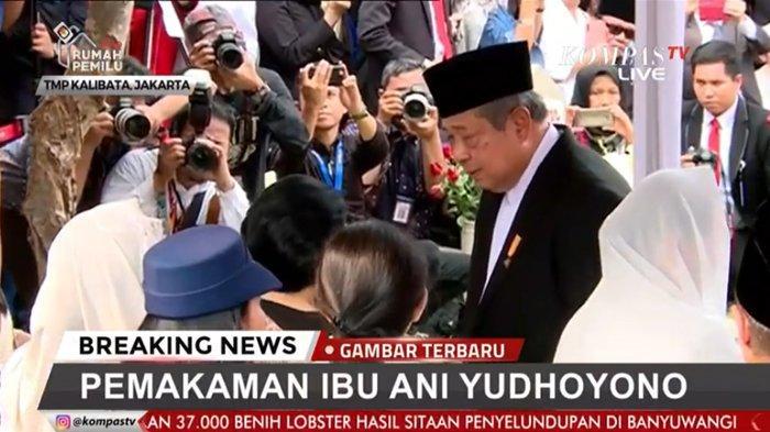 Hadir di Pemakaman Ani Yudhoyono di TMP Kalibata, Begini Reaksi Megawati Saat Berhadapan dengan SBY