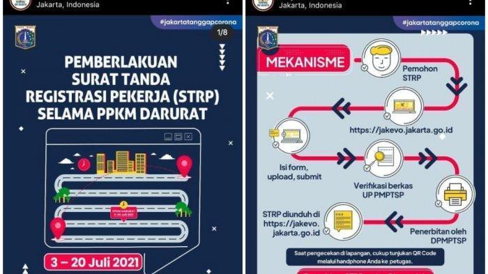 Penumpang KRL dan Transjakarta Wajib Tunjukan Surat Tanda Registrasi Pekerja Mulai Hari Ini