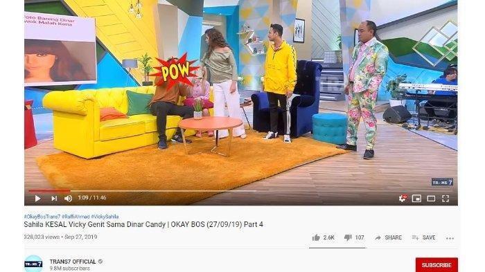 Dinar Candy Ngaku 2 Pria Kena Tampar karena Dirinya, Sahila Hisyam Sontak Lalukan Ini ke Vicky