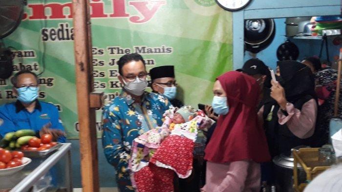Dadakan Diminta Namai Cucu Pemilik Warteg, Gubernur Anies Beri Nama Permata Annisa Nusantara