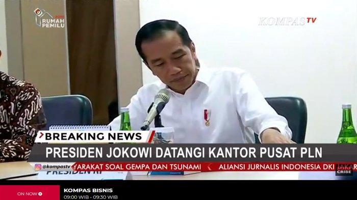 Jelaskan Detail Soal Mati Listrik, Dirut PLN Disemprot Jokowi: Bapak Ibu Pinter, Apa Tak Dihitung?
