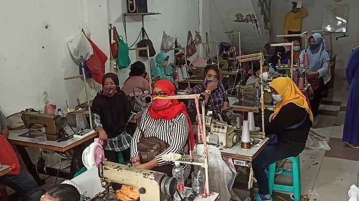 Polres Jakarta Utara Gerebek Pabrik Konveksi di Sukapura yang Langgar PPKM Darurat