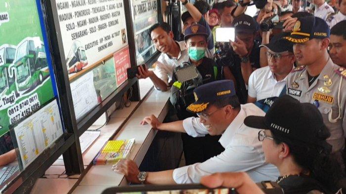 Tinjau Kesiapan Mudik di Terminal Kampung Rambutan, Menhub Pastikan Tarif Bus Sesuai Ketentuan