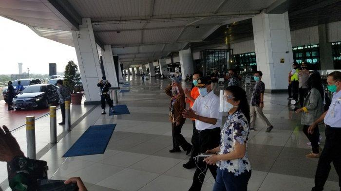 Menteri Budi Karya Sidak Protokol Kesehatan di Bandara Soekarno-Hatta