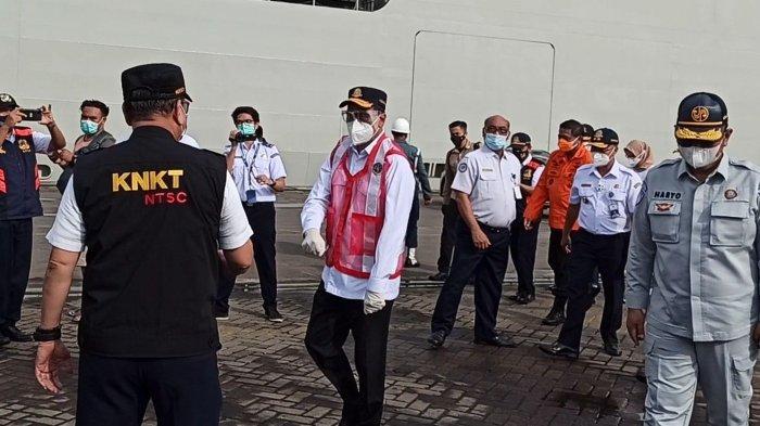 Hari Terakhir Perpanjangan Operasi SAR Sriwijaya Air SJ-182, Menhub Kunjungi Posko JICT II