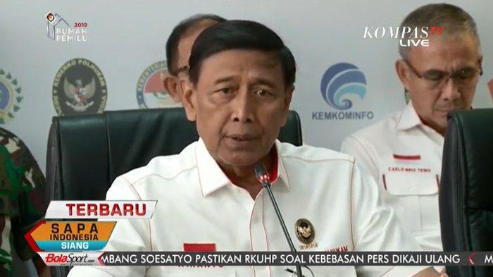Pesan Wiranto di Musyawarah Nasional PP PBSI, Suasana Jangan Memanas, Ini Bukan Munas Parpol