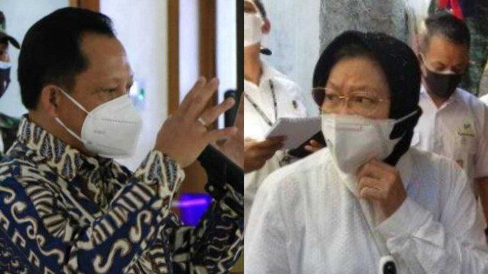 Datang ke Tangerang, Menteri Risma Ngomel Soal Bansos Disunat, Menteri Tito Minta Tim Khusus Tracing