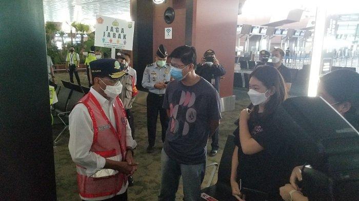 Menteri Perhubungan Sambangi Bandara Soekarno-Hatta, Pantau Pelarangan Mudik