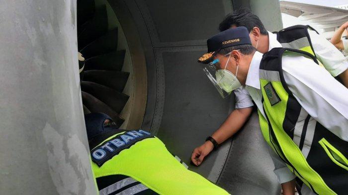 Pantau Arus Balik Libur Panjang, Menhub Lakukan Ramp Cek Pesawat di Bandara Soekarno-Hatta