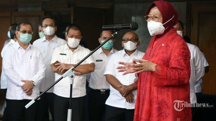 Rangkap Jabatan, Mensos Tri Rismaharini Bakal Pulang Pergi Jakarta-Surabaya: Sudah Izin ke Presiden