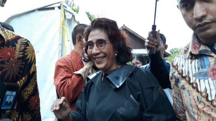 Menteri Susi Pudjiastuti Tak Habis Pikir Ada Perempuan Berdandan Selama 1 Jam