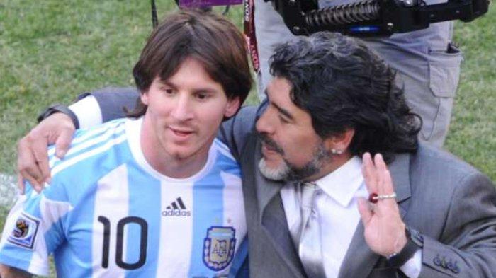 Legenda Sepak Bola Maradona Wafat, Ini Kesedihan Pemain Naturalisasi Persib Asal Argentina