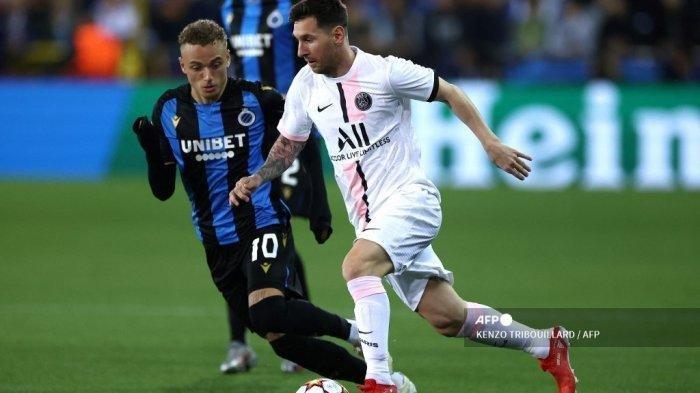 Liga Champions: Club Brugge Sukses Tahan Imbang PSG 1-1, Pochettino Gagal Maksimalkan Peran Messi