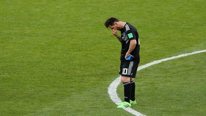 Statistik Buruk Messi: 12 Partai Melawan Wakil dari Eropa di Piala Dunia, Hanya Sanggup Bikin 2 Gol