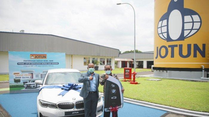 Bawa Pulang Hadiah Utama BMW Seri 3 dari Jotun, Pria Asal Sidoarjo: Saya Puas