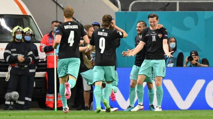 Hasil Euro 2020: Gol ke-700 Sepanjang Piala Eropa Tercipta Saat Austria Kalahkan Makedonia Utara