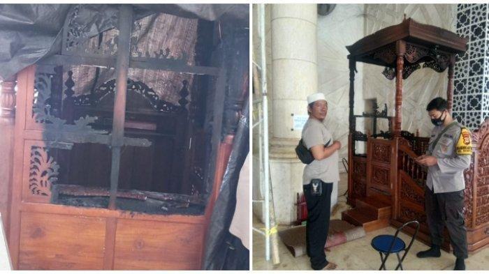 Kabbah Tersenyum Diinterogasi Polisi Soal Pembakaran Mimbar Masjid, Umat Muslim Diharap Tenang