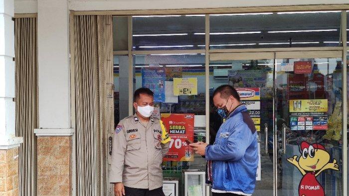 Minimarket yang disasar kawanan rampok di Jalan Abdul Wahab, Sawangan, Kota Depok. (TRIBUNJAKARTA.COM/DWI PUTRA KESUMA)