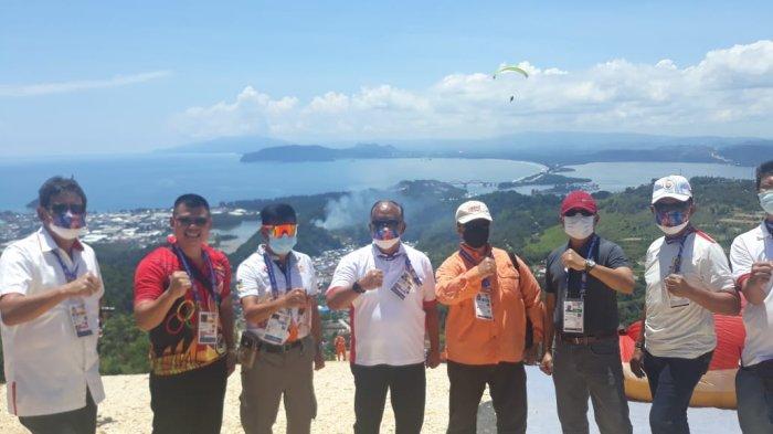 Ketum KONI Pusat Takjub Melihat Keindahan Alam Papua dari Venue Paralayang: Luar Biasa Indahnya