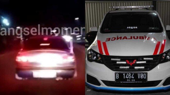 Di Balik Viral Ambulans Dihalangi Sedan di Pamulang, Ada Pasien Kritis yang Tak Tertolong