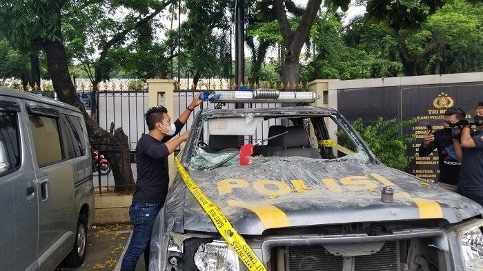 Demo Anarkis di Kota Tangerang, Polisi Selidiki Keterlibatan Anarko