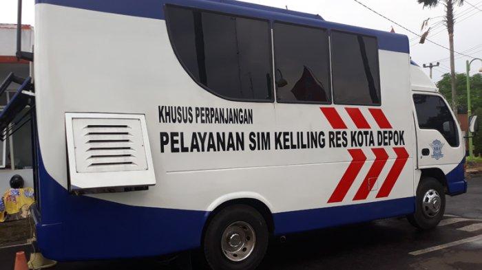 Catat! Ini Lokasi Pelayanan SIM Keliling di Jakarta dan Sekitarnya Hari Ini, Selasa (11/6/2019)