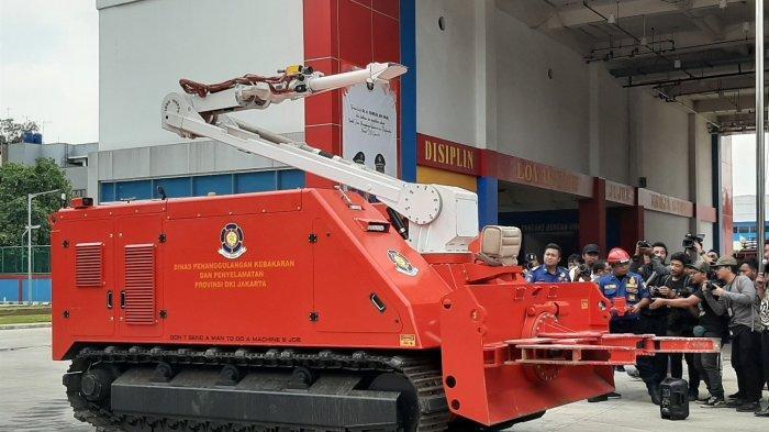 Mobil Robot Pemadam Api Seharga Rp 32 Miliar Buatan Kroasia, Berikut Spesifikasinya