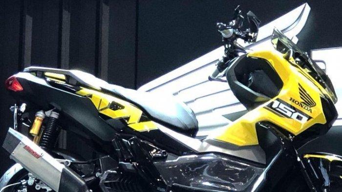 Tampang Honda ADV150 Makin Sporty Hasil Modifikasi Bergaya Urban Street