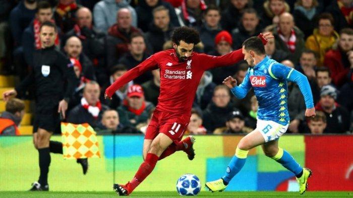 Gol Tunggal Mohamed Salah Bawa Liverpool Lolos 16 Besar Liga Champions