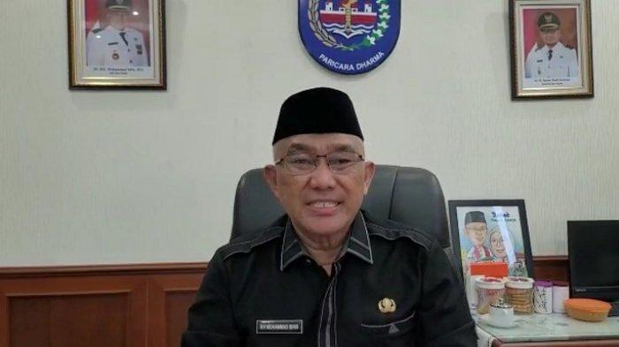 Layar tangkap video penjelasan Wali Kota Depok, Mohammad Idris, terkait Wisma Makara UI 2, Jumat (16/7/2021).