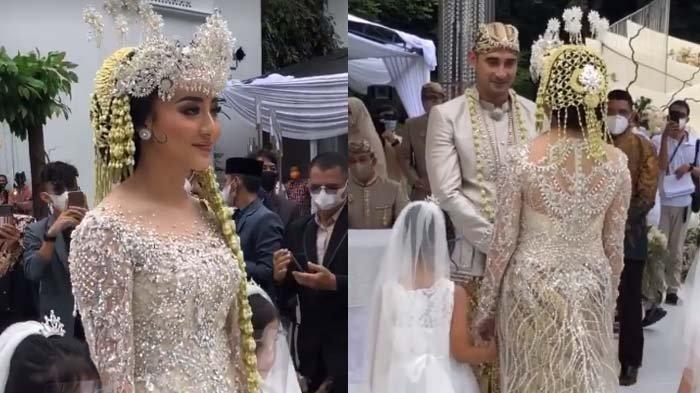 Ali Syakieb Resmi Jadi Suami Margin Wieheerm , Berikut Sosok Istri dan Foto-foto Pernikahannya