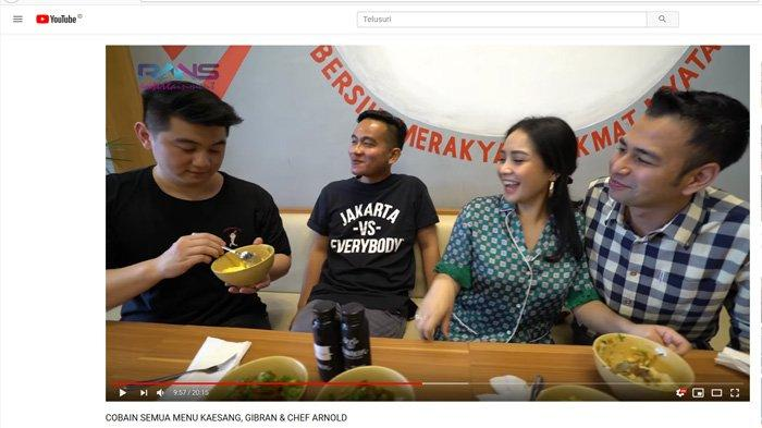 Momen Chef Arnold Ingin Suapi Gibran Tuai Sorotan, Raffi Ahmad dan Nagita Slavina Sampai Ngakak