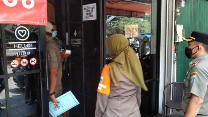 Selama PSBB Ketat, 516 Rumah Makan di Jakarta Ditutup Satpol PP