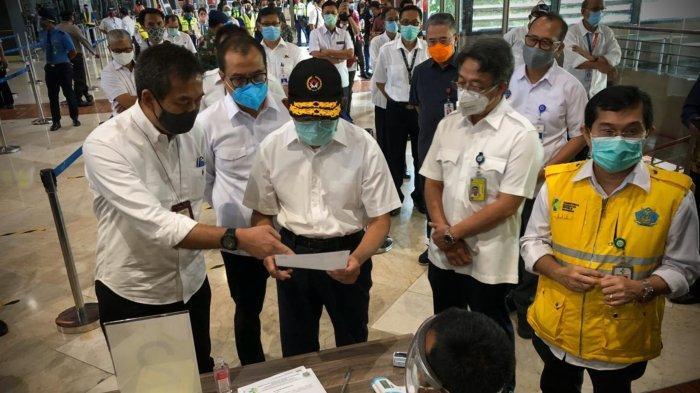 Menko PMK Tinjau Bandara Soekarno-Hatta: Semua Sudah Berjalan Dengan Baik
