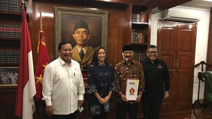 PDIP Berkoalisi dengan Gerindra Usung Muhamad-Rahayu Saraswati Maju Pilkada Tangsel