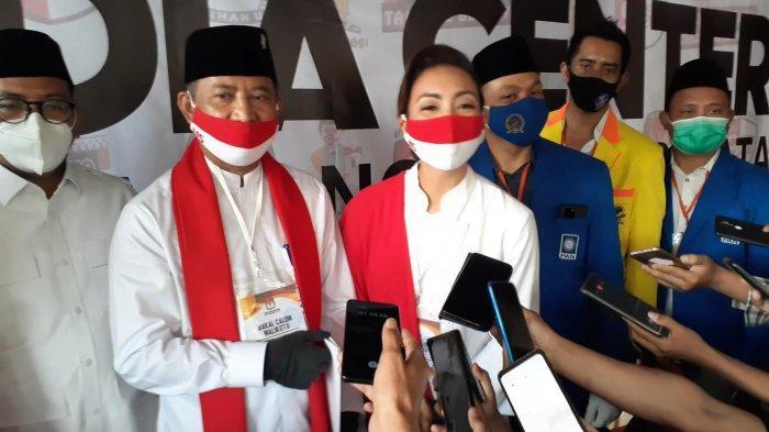 100% Suara Masuk, Muhamad-Saraswati Menang di Ciputat Timur