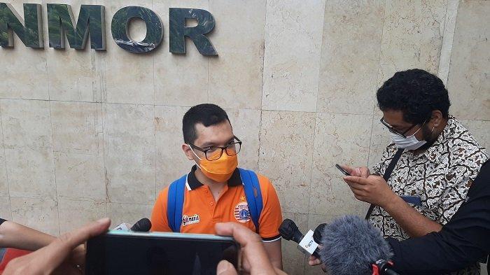 Pengurus The Jakmania Penuhi Panggilan Polda Metro Jaya