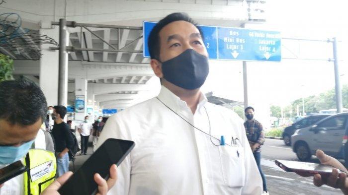 Direktur Utama PT Angkasa Pura II Muhammad Awaluddin saat ditemui di Terminal 3 Bandara Soekarno-Hatta usai mengecek kesiapan menjelang arus balik liburan, Minggu (1/11/2020).