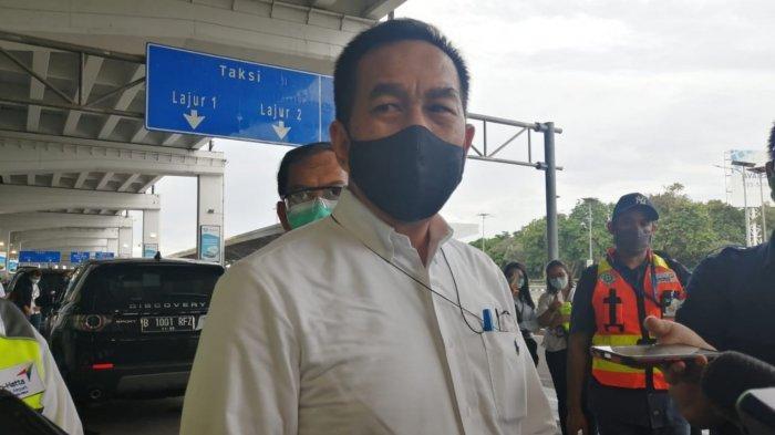 Direktur Utama PT Angkasa Pura II Muhammad Awaluddin saat ditemui di Terminal 3 Bandara Soekarno-Hatta, Minggu (1/11/2020).