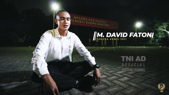 Dicibir karena Anak Tukang Pijat, Mental David Tak Tumbang: Buktikan Diri Lolos jadi Taruna Akmil