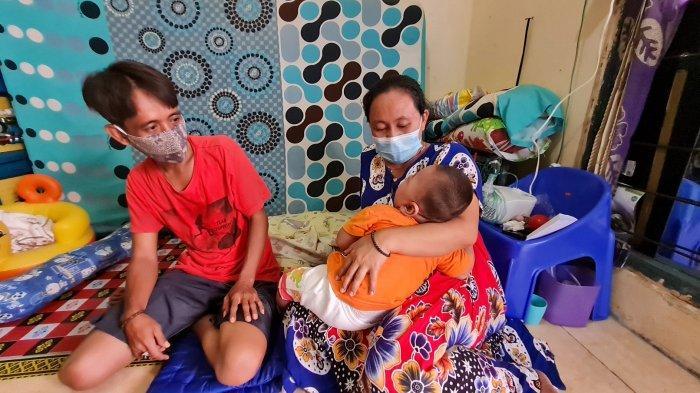 Bayinya Menderita Epilepsi, Warga Penjaringan Harap Pemerintah Anggarkan Susu Khusus Intraktabel