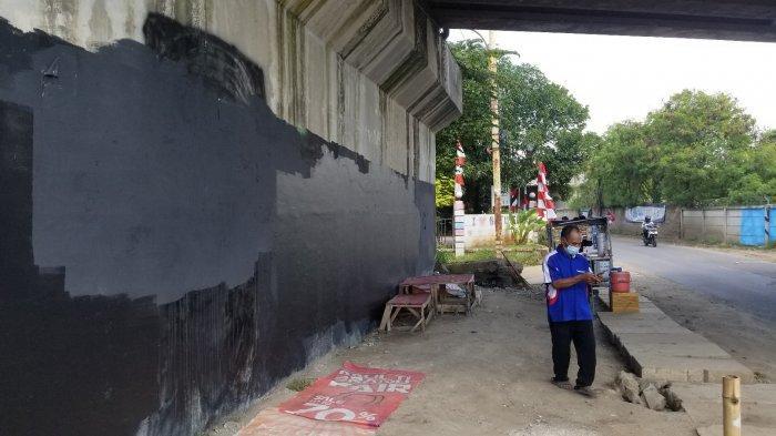 Mural Mirip Jokowi Bertuliskan 404: Not Found di Tangerang Sudah Ada Sejak Setahun Lalu