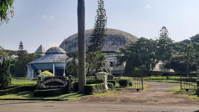Museum Telekomunikasi di areal TMII, Jakarta Timur, Kamis (8/4/2021)