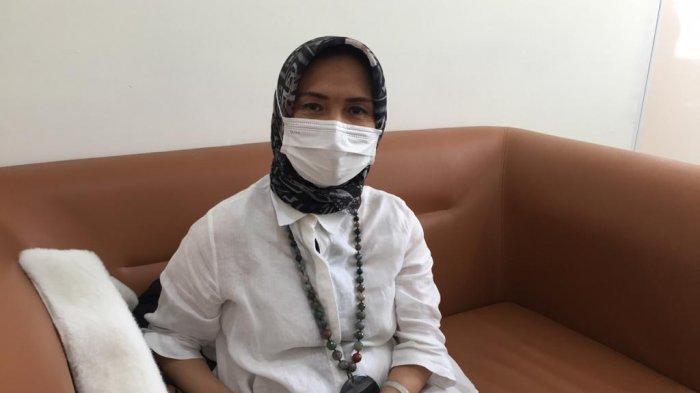 Kepala Puskesmas Kecamatan Tebet, dr Myrna Kantjananingrat dijumpai di Puskesmas Manggarai Selatan, Rabu (24/2/2021).