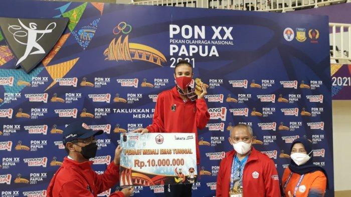 Atlet DKI Jakarta Borong 3 Medali Emas, Nabila Evandestiera Jadi yang Tersukses di Senam PON Papua