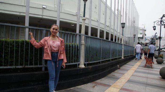Jebolan Dangdut Academy Asia 5 Nadia Benny Duet Bareng Faris Fazly dan Buat Video Klip di Bandung